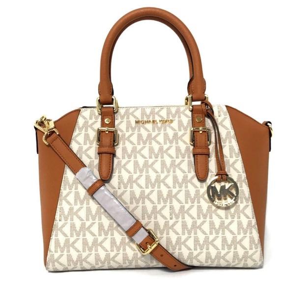 e57b8503c00c Michael Kors Bags   Ciara Vanillaacorn Lg Satchel   Poshmark